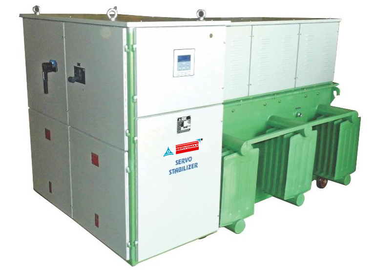 Servo Controlled Voltage Stabilizers - 3 Phase Oil Cooled